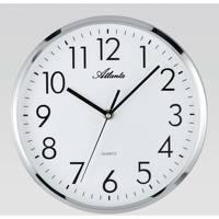 Maison & Déco Horloges Atlanta 4315, Quartz, White, Analogue, Modern Blanc