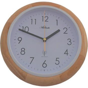 Maison & Déco Horloges Atlanta 4323/30, Quartz, White, Analogue, Modern Blanc