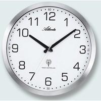 Maison & Déco Horloges Atlanta 4371/0, Quartz, White, Analogue, Modern Blanc