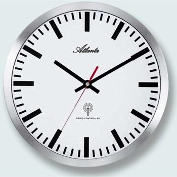 Maison & Déco Horloges Atlanta 4371/B, Quartz, White, Analogue, Modern Blanc