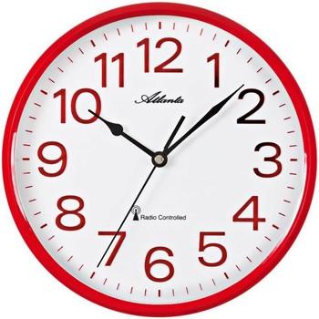 Maison & Déco Horloges Atlanta 4378/1, Quartz, White, Analogue, Modern Blanc