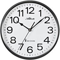 Maison & Déco Horloges Atlanta 4378/4, Quartz, White, Analogue, Modern Blanc