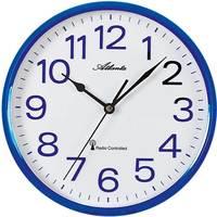 Maison & Déco Horloges Atlanta 4378/5, Quartz, White, Analogue, Modern Blanc