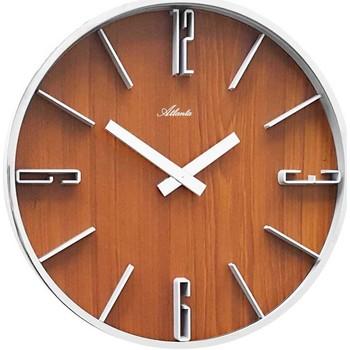 Maison & Déco Horloges Atlanta 4426/20, Quartz, Brown, Analogue, Modern Marron
