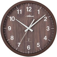 Maison & Déco Horloges Atlanta 4438/20, Quartz, Brown, Analogue, Modern Marron
