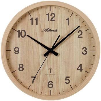 Maison & Déco Horloges Atlanta 4438/30, Quartz, Brown, Analogue, Modern Marron