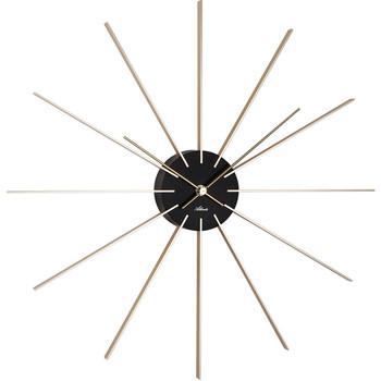 Maison & Déco Horloges Atlanta 4487/9, Quartz, Black, Analogue, Classic Noir
