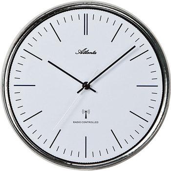 Maison & Déco Horloges Atlanta 4493, Quartz, White, Analogue, Modern Blanc