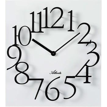 Maison & Déco Horloges Atlanta 4511/0, Quartz, White, Analogue, Modern Blanc