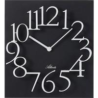Maison & Déco Horloges Atlanta 4511/7, Quartz, Black, Analogue, Modern Noir