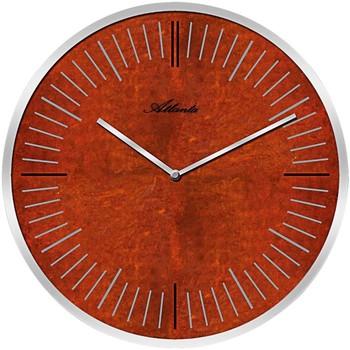 Maison & Déco Horloges Atlanta 4530/18, Quartz, Red, Analogue, Modern Rouge
