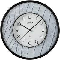 Maison & Déco Horloges Atlanta 4540/4, Quartz, White, Analogue, Modern Blanc