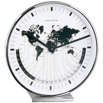 Maison & Déco Horloges Hermle 22843-002100, Quartz, White, Analogue, Classic Blanc