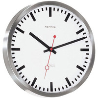 Maison & Déco Horloges Hermle 30471-000870, Quartz, White, Analogue, Modern Blanc