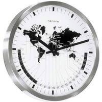 Maison & Déco Horloges Hermle 30504-002100, Quartz, White, Analogue, Modern Blanc
