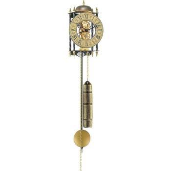 Maison & Déco Horloges Hermle 70504-000701, Mechanical, Gold, Analogue, Classic Doré