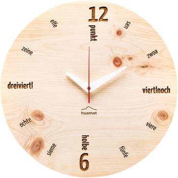 Maison & Déco Horloges Huamet CH40-C-01, Quartz, Beige, Analogue, Modern Beige