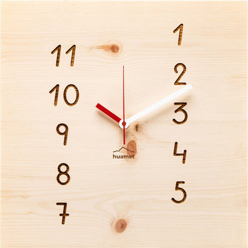 Maison & Déco Horloges Huamet CH41-H-13, Quartz, Beige, Analogue, Modern Beige