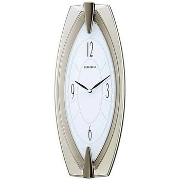 Maison & Déco Horloges Seiko QXA342S, Quartz, White, Analogue, Classic Blanc