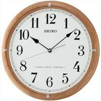 Maison & Déco Horloges Seiko QXR208Z, Quartz, White, Analogue, Modern Blanc