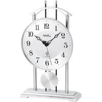 Vêtements de nuit Horloges Ams 5192, Quartz, White, Analogue, Modern Blanc