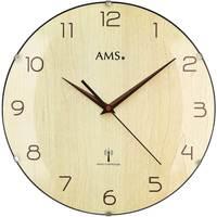 Vêtements de nuit Horloges Ams 5557, Quartz, Cream, Analogue, Modern Autres