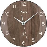 Vêtements de nuit Horloges Ams 5558, Quartz, Brown, Analogue, Modern Marron