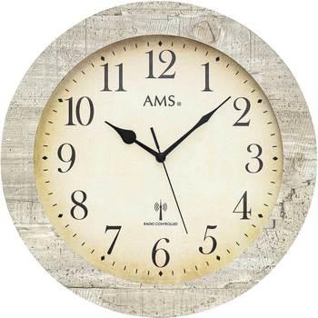Maison & Déco Horloges Ams 5561, Quartz, Cream, Analogue, Classic Autres