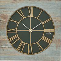 Vêtements de nuit Horloges Ams 9640, Quartz, Green, Analogue, Modern Vert