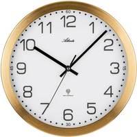 Maison & Déco Horloges Atlanta 4371/9, Quartz, White, Analogue, Modern Blanc