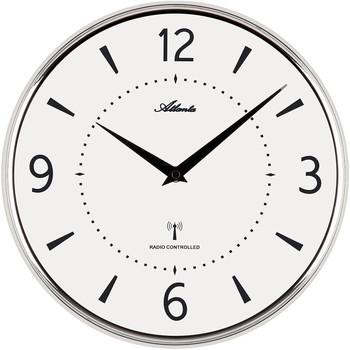 Maison & Déco Horloges Atlanta 4538/19, Quartz, White, Analogue, Modern Blanc