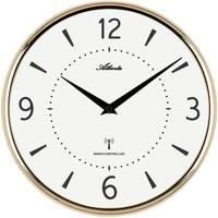 Maison & Déco Horloges Atlanta 4538/9, Quartz, White, Analogue, Modern Blanc