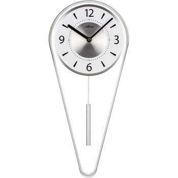 Maison & Déco Horloges Atlanta 5008/19, Quartz, White, Analogue, Modern Blanc