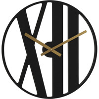 Maison & Déco Horloges Hermle 30913-742100, Quartz, Black, Analogue, Modern Noir