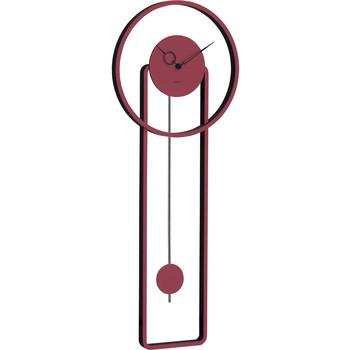 Maison & Déco Horloges Hermle 61024-362200, Quartz, Red, Analogue, Modern Rouge
