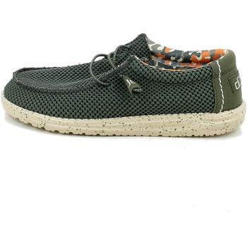 Chaussures Homme Mocassins Hey Dude WALLYSOX.26_43 Vert