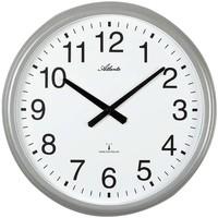 Maison & Déco Horloges Atlanta 4449, Quartz, White, Analogue, Modern Blanc