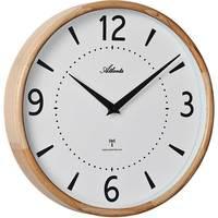 Maison & Déco Horloges Atlanta 4535/30, Quartz, White, Analogue, Modern Blanc