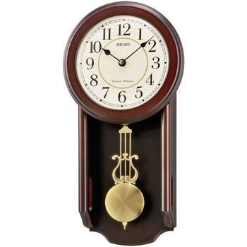 Maison & Déco Horloges Seiko QXH063B, Quartz, Beige, Analogue, Classic Beige