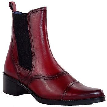 Chaussures Femme Bottines PintoDiBlu 9951 ROUGE