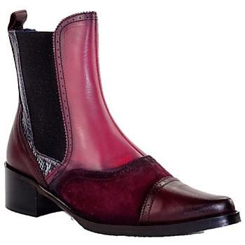 Chaussures Femme Bottines PintoDiBlu 9951 BORDEAUX MULTI
