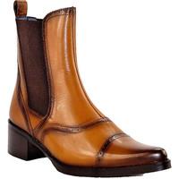 Chaussures Femme Bottines PintoDiBlu 9951 COGNAC CAMEL