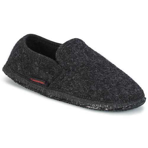 Chaussures Homme Chaussons Giesswein NIEDERTHAL Noir