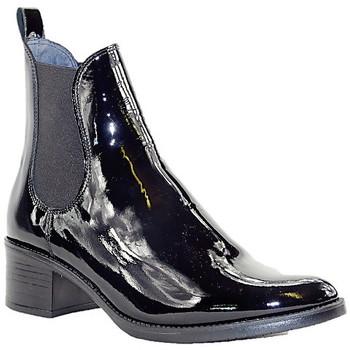 Chaussures Femme Bottines PintoDiBlu 79260 VERNIS NOIR