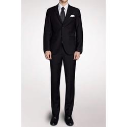 Vêtements Homme Costumes  Kebello Costume coupe classique Taille : H Noir 48V-40P Noir
