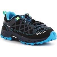Chaussures Enfant Randonnée Salewa Jr Wildfire 64007-3847 niebieski, granatowy