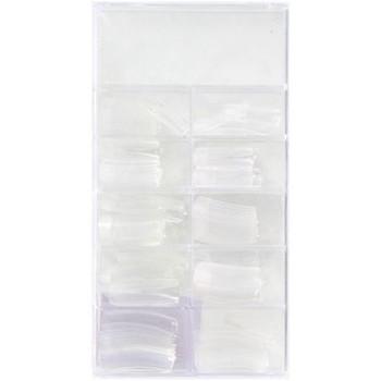 Beauté Femme Kits manucure Easy Paris Yssy Fashion - Boîte de 100 capsules transparentes Autres
