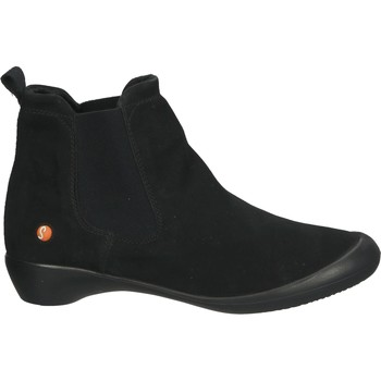 Chaussures Femme Bottines Softinos Bottines Schwarz