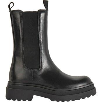 Chaussures Femme Bottines Inuovo Bottines Schwarz