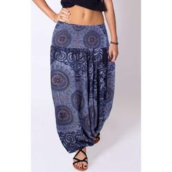 Vêtements Femme Pantalons fluides / Sarouels Coton Du Monde Jody Anthracite